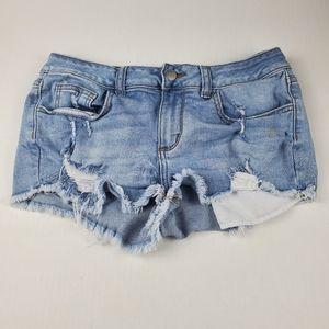 Victoria's Secret PINK Super Distressed Shorts 8